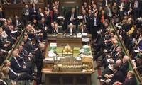 Majelis Rendah Inggris melakukan pemungutan  suara tentang permufakatan keluar  dari Uni Eropa