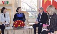 Ketua MN Vietnam, Nguyen Thi Kim Ngan mengunjungi dan melakukan temu kerja dengan Parlemen Eropa: Tukar-menukar pengalaman dalam pekerjaan legislasi