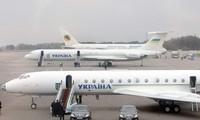 Ukraina melarang misi-misi penerbangan langsung yang belum terjadwal  ke Rusia