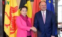 Ketua MN Vietnam, Nguyen Thi Kim Ngan menerima Gubernur Kawasan Wallonie, Belgia