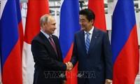 Rusia dan Jepang siap melakukan konsultasi tentang Traktat perdamaian