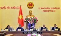 Komite Tetap MN Viet Nam memasuki pekan kerja kedua dalam persidangan ke-33