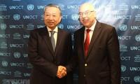 Vietnam berkomitmen melakukan kerjasama internasional, melaksanakan strategi PBB tentang anti-terorisme global