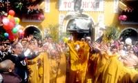 Pesan ucapan selamat sehubungan dengan Mega Preayaan  Waisak PBB yang ke-16 di Vietnam
