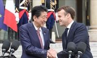 Jepang dan Perancis sepakat mempererat kerjasama bilateral dan mendorong perdagangan bebas