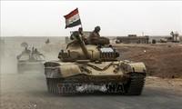 Irak merusak banyak pangkalan IS