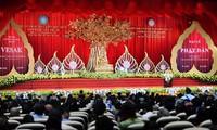 Agama  Buddha Vietnam demi satu dunia yang damai dan berkembang secara berkesinambungan