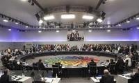 Para Menteri Keuangan dan Gubernur Bank Sentral G20 mulai mengadakan konferensi  di Jepang