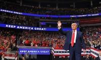 Presiden AS, Donald Trump memulai kampanye pilpres tahun 2020