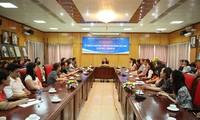 Deputi PM Vu Duc Dam melakukan temu kerja di Kota Hai Phong