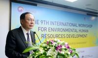 Seminar internasional kali ke-9 tentang perkembangan sumber daya manusia di bidang lingkungan hidup