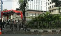 Mahkamah Konstitusi Indonesia membantah paduan  dalam pilpres