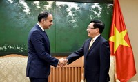 Deputi PM, Menlu Pham Binh Minh menerima Wakil Pesiden ADB