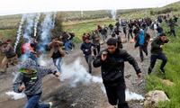 Terjadi bentrokan dengan Israel, lebih dari 40 orang Palestina terluka