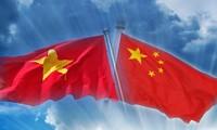 Memperkuat hubungan kemitraan strategis dan komprehensif Vietnam-Tiongkok