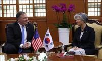 Menlu Republik Korea-AS mengadakan pembicaraan telepon tentang masalah-masalah panas