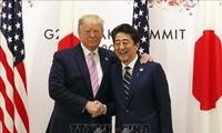 Jepang membuka kemungkinan berpartisipasi pada persekutuan pimpinan AS tentang masalah Timur Tengah