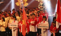 Acara pembukaan ASEAN School Games (ASG) tahun 2019 di Indonesia
