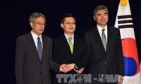 AS mengusulkan saat penyelenggaraan perbahasan trilateral dengan Jepang dan Republik Korea