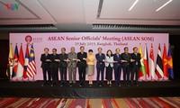 Mengadakan sidang persiapan untuk Konferensi Para Menlu ASEAN ke-52