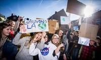 Para pemuda Eropa menghadiri KTT tentang perubahan iklim