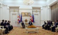 Delegasi tingkat tinggi Kantor KS PKV melakukan kunjungan kerja di Kamboja