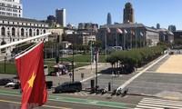 Konsulat Jenderal Vietnam di Kota San Francisco mengadakan upacara bendera untuk memperingati HUT ke-74 Hari Nasional Vietnam