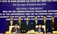 Kerjasama Vietnam-Kerajaan Bersatu Britania Raya dan Irlandia Utara tentang reformasi prosedur administrasi