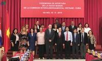 Pembukaan persidangan ke-37 Komite Antar-Pemerintah Vietnam-Kuba