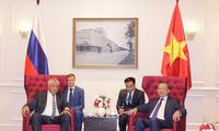 Kementerian Keamanan Publik Vietnam dan Kementerian Dalam Negeri Federasi Rusia memperhebat hubungan kerjasama