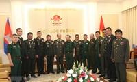 Memperkuat kerjasama pertahanan antara Vietnam-Kamboja
