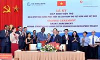 Bank Dunia dan Swiss membantu Vietnam mengembangkan cabang perbankan