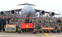 Menyiapkan sumber daya manusia ikut serta pada pasukan penjaga perdamaian PBB