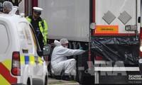 Kedubes Vietnam untuk Inggris terus melakukan koordinasi dengan Inggris untuk melakukan investigasi terhadap kasus 39 orang mati dalam kontainer