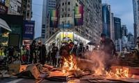 Tiongkok mengancam akan memberikan balasan terhadap AS tentang masalah Hongkong (Tiongkok)