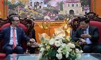 VOV ingin memperkuat kerjasama dengan Perutusan Uni Eropa di Vietnam
