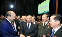 PM Vietnam, Nguyen Xuan Phuc menghadiri acara peringatan HUT ke-65 Pembentukan Sekolah pelajar Vietnam Selatan di Vietnam Utara