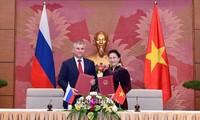 Vietnam-Rusia memperkuat hubungan kemitraan strategis dan komprehensif