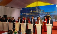 Hanoi melakukan pencangkulan pertama proyek demi Tahun Keketuaan ASEAN 2020 dan Seagames 31