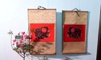 Memulihkan dan mengkonservasikan nilai lukisan rakyat Kim Hoang