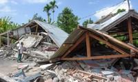 Banyak tempat di Indonesia diguncangkan oleh gempa bumi