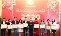 Kemlu Vietnam mengadakan pertemuan dengan kantor pemberitaan sehubungan dengan Tahun Baru 2020