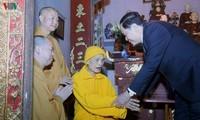 Sangha Buddha Vietnam selalu berjalan seperjalanan dengan perkembangan bangsa