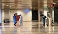 Siap menyambut warga negara Vietnam yang kembali ke tanah air melalui Bandara internasioal Van Don