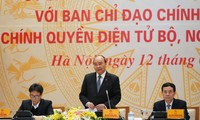 PM Nguyen Xuan Phuc: pembangunan E-Government Vietnam bisa dipersingkat terbanding dengan banyak negara lain