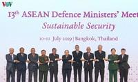 Membuka Konferensi terbatas Menhan ASEAN