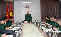 Kementerian Pertahanan Vietnam mengadakan sidang Badan Pengarahan urusan pencegahan dan penanggulanan wabah Covid-19