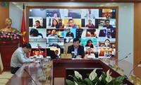 VOV untuk pertama kalinya mengadakan sidang briefing online di 55 situs