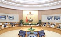 PM Vietnam, Nguyen Xuan Phuc memimpin sidang Badan Harian Pemerintah tentang penggelaran pengambilan pungutan  tanpa berhenti dalam tahun 2020