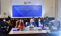 Konferensi  online Kelompok Kerja di bawah Dewan Koordinator ASEAN tentang pekerjaan menghadapi situasi-situasi kesehatan publik darurat
